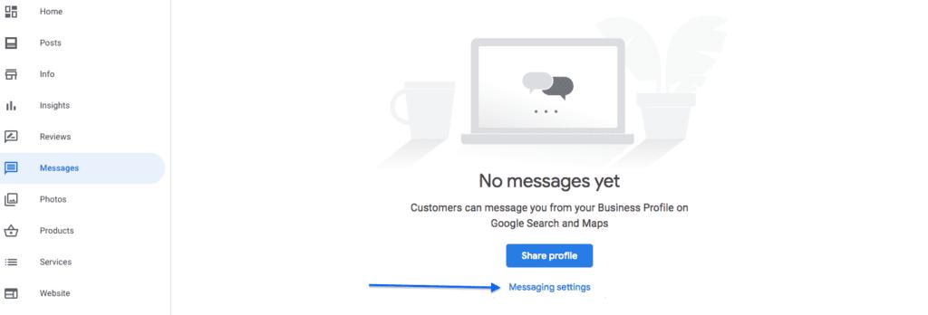 Set Up Messages