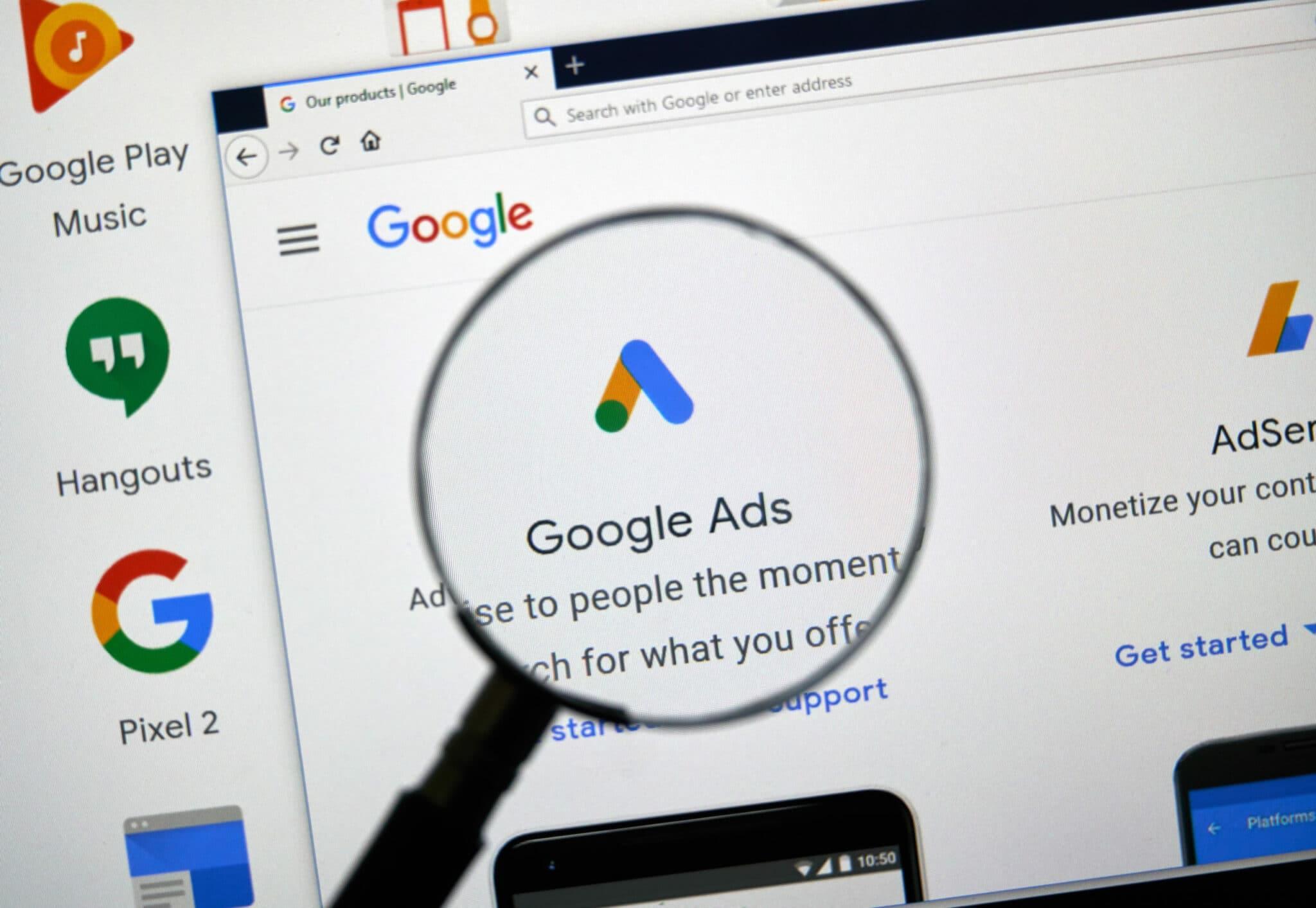 Google Ads Logo highlighting the look of Google Ads