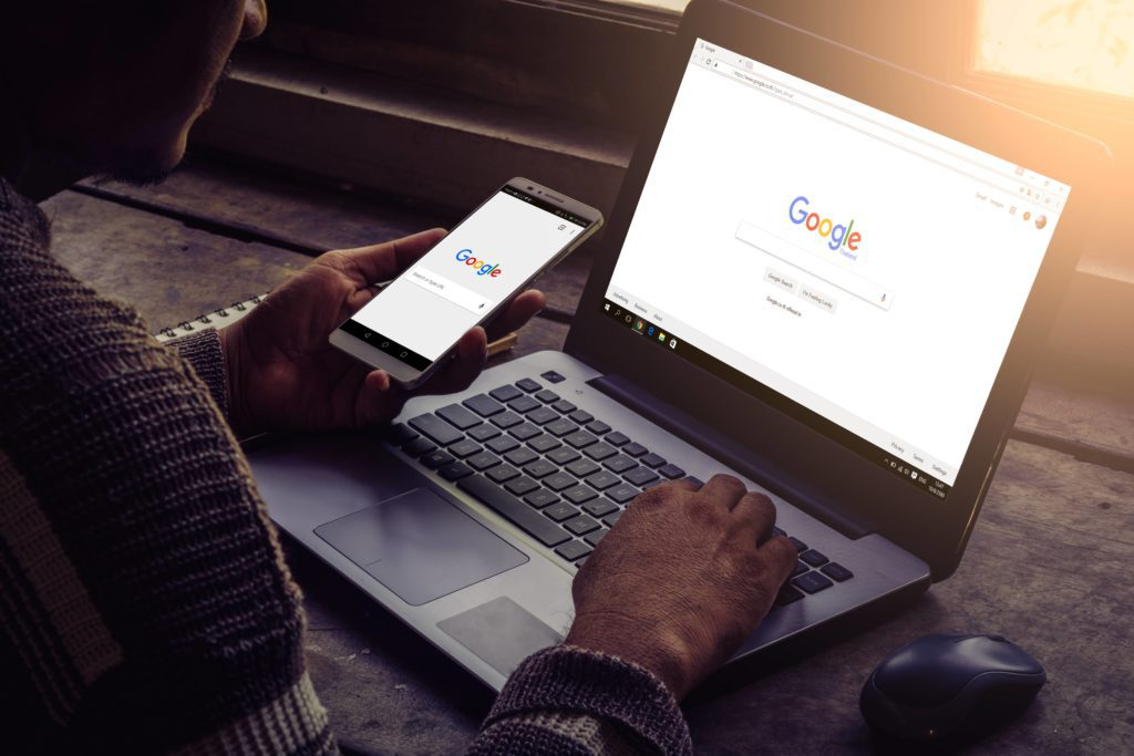 Show how google appears on every device